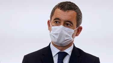 Gérald Darmanin le 15 octobre 2020 à Paris