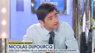 Nicolas Dufourcq invité de BFM Business ce mardi 23 avril