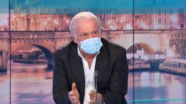 Jean-François Delfraissy, président du Conseil scientifique, invité sur BFMTV le 24 janvier 2021