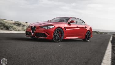 """L'Alfa Romeo Giulia, élue en 2016 """"plus belle voiture de l'année"""""""