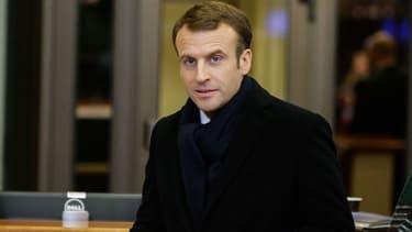 Emmanuel Macron va dîner avec les soldats de la force Barkhane à N'Djamena (Tchad) samedi 22 décembre