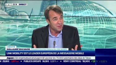 Guillaume Van Gaver (LINK Mobility) : LINK Mobility est le leader européen de la messagerie mobile - 08/06
