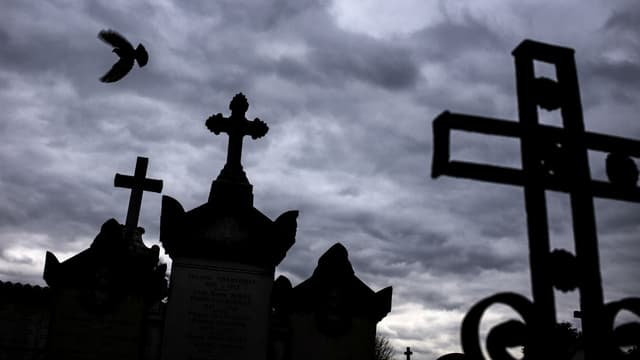 Le cimetière Loyasse à Lyon (illustration)
