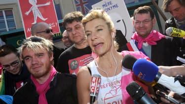 Frigide Barjot a indiqué avoir reçu des menaces de mort de la part de militants d'extrême droite.