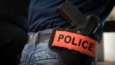 Photo d'illustration de l'équipement d'un policier.