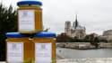 Quelque 240.000 abeilles ont produit cet été 200 kg de miel sur le toit du restaurant La Tour d'Argent, dernier haut lieu prestigieux en date à accueillir des ruches au coeur de Paris. /Photo prise le 24 septembre 2010/ REUTERS/Jacky Naegelen