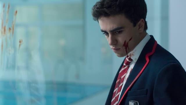 """Itzan Escamilla, star de """"Élite"""""""