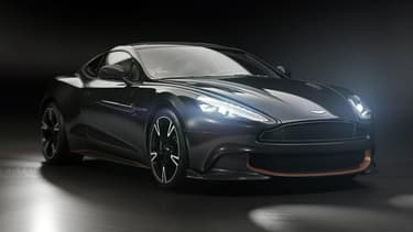 "Aston Martin ne commercialisera que 175 exemplaires de la Vanquish S ""Ultimate""."
