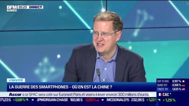 Jean de Chambure (Consultant) : La guerre des smartphones, où en est la Chine ? - 20/05