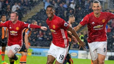 Manchester United  a dépassé la barre des 500 millions de livres de chiffre d'affaires