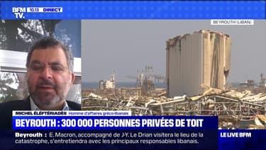 Beyrouth: 300 000 personnes privées de toit - 06/08