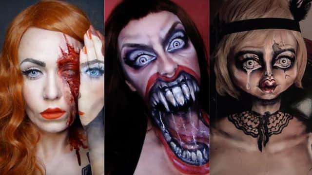 Trois maquillages de Julia Wunderlich