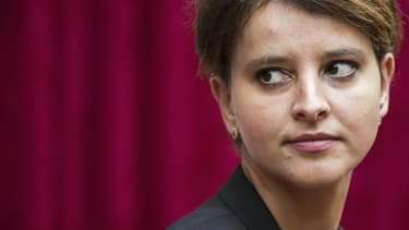 Najat Vallaud-Belkacem a salué la stratégie de quotas mise en place par la France.