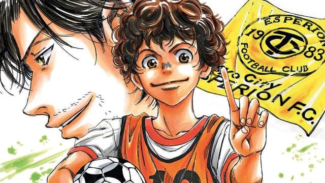 "Le deuxième tome du manga ""Ao Ashi"""