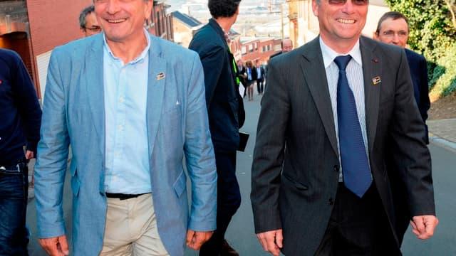 Bernard Thévenet et Bernard Hinault