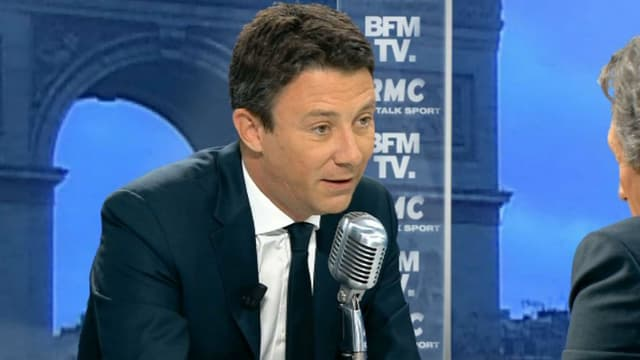 Benjamin Griveaux jeudi sur RMC et BFMTV.