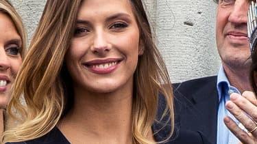 L'ancienne Miss France Camille Cerf, le 19 mars 2017 à Lille.