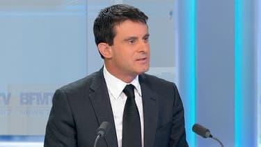 Manuel Valls, invité de Ruth Elkrief le 13 décembre.