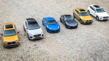 Les voitures finalistes du concours de la plus belle voiture de l'année