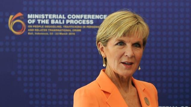 Julie Bishop, ministre des Affaires étrangères australienne, a annoncé la mort d'un agent de sécurité australien en Irak.
