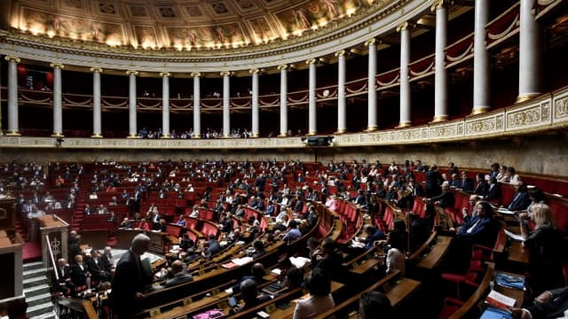 Les députés siégeant à l'Assemblée nationale le 1er août 2017 (image d'illustration)