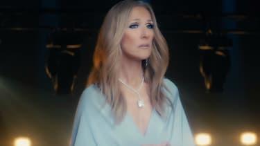"""Céline Dion dans le clip """"Ashes"""""""