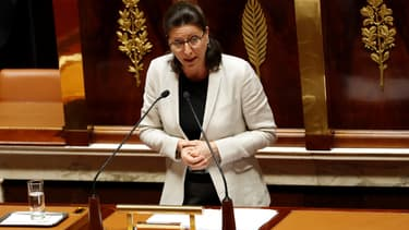 La ministre de la Santé Agnès Buzyn, chargée de présenter le projet de loi sur le financement de la sécurité sociale, le 19 juillet 2017 à l'Assemblée nationale à Paris.