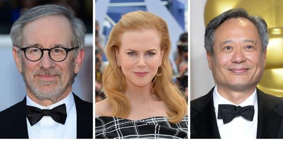 Steven Spielberg, président du jury, est entouré dans sa tâche par Nicole Kidman et Ang Lee, entre autres.