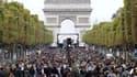 Dimanche 1er juillet, les Champs-Elysées seront fermés à la circulation (photo d'illustration)