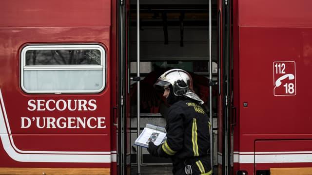 42 pompiers ont été déployés. (Image d'illustration)