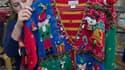 Un bel exemple de pull de Noël moche. (photo d'illustration)