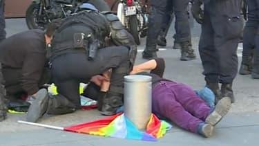 Geneviève Legay a été blessée lors d'une charge policière à Nice le 23 mars 2019.