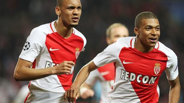 Le milieu de l'AS Monaco, Fabinho, a vu Kylian Mbappé progresser juste devant lui sur le terrain.