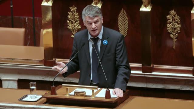 Philippe Folliot à l'Assemblée nationale le 25 novembre 2015.