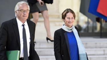 François Rebsamen et Ségolène Royal étaient les deux seuls nouveaux entrants au gouvernement en janvier 2014.
