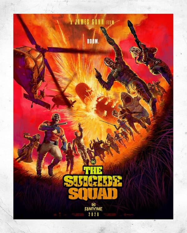 """Affiche de """"The Suicide Squad"""" dévoilée au DCFanDome"""