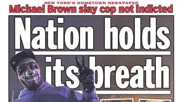 """""""La nation retient son souffle"""" titre le Daily News pour son édition du 25 novembre."""
