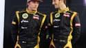 Kimi Raïkkönen et Romain Grosjean