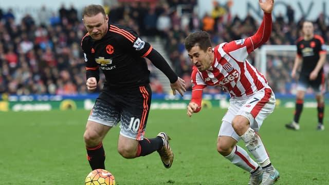 Wayne Rooney et Bojan