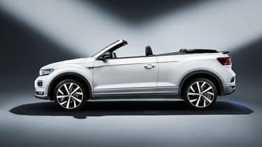 Volkswagen vient de dévoiler une version cabriolet de son SUV T-Roc.