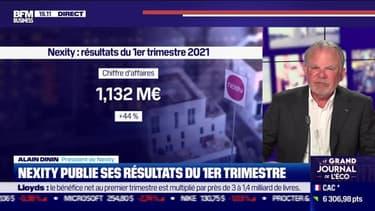 Alain Dinin (Nexity) : Nexity publie ses résultats du premier trimestre - 28/04