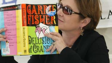 Carrie Fisher est l'auteure d'une dizaine de livres, et presque autant de bestsellers.