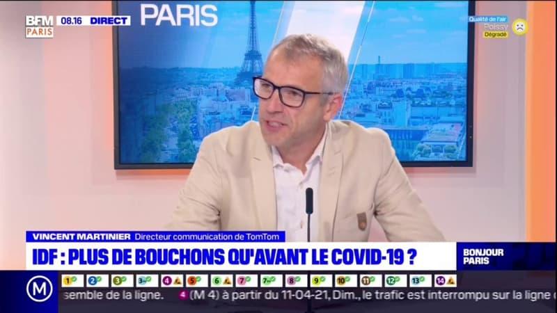 """Circulation en Île-de-France: selon TomTom, """"ça s'est accru de façon très rapide depuis les déconfinements"""""""