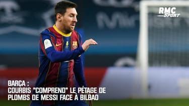 """Barça : Courbis """"comprend"""" le pétage de plombs de Messi face à Bilbao"""