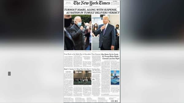 La Une du New York Times