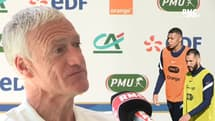 """Comment jouer avec Benzema ? Deschamps veut avant tout """"trouver des complémentarités"""""""