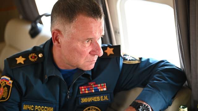 Evgueni Zinichev, ministre des Situations d'urgence russe
