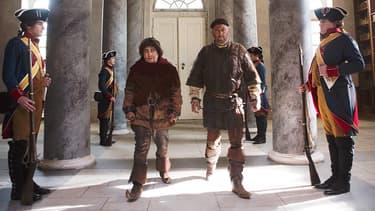 """Christian Clavier et Jean Reno dans """"Les  Visiteurs: La Révolution""""."""