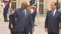 François Hollande a rencontré mardi son homologue malien, Ibrahim Boubacar Keïta.