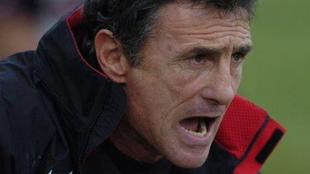 Guy Novès, manager du Stade Toulousain